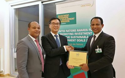 Ethiopian Investment Commission-Ethiopia wins the 2017 United Nations award for excellence in promoting investment in the sustainable development goals (SDGS)