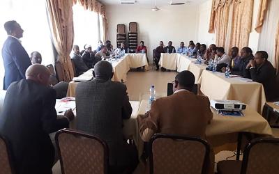 Cotton Contract Farming Model Sensitization Workshop Held in Shire