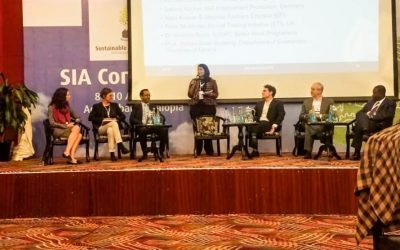 EP took part in the International Sustainable Industrial Areas Conference Held in Ethiopia